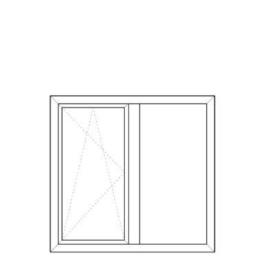 Tilt before Turn fixed frame