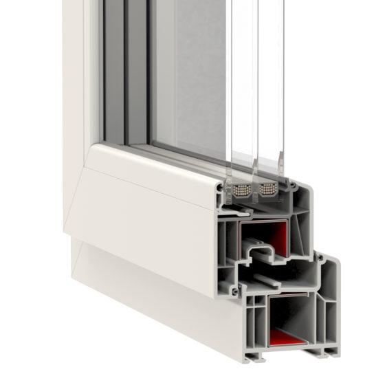 NorDan u PVC Window Corner Arcade