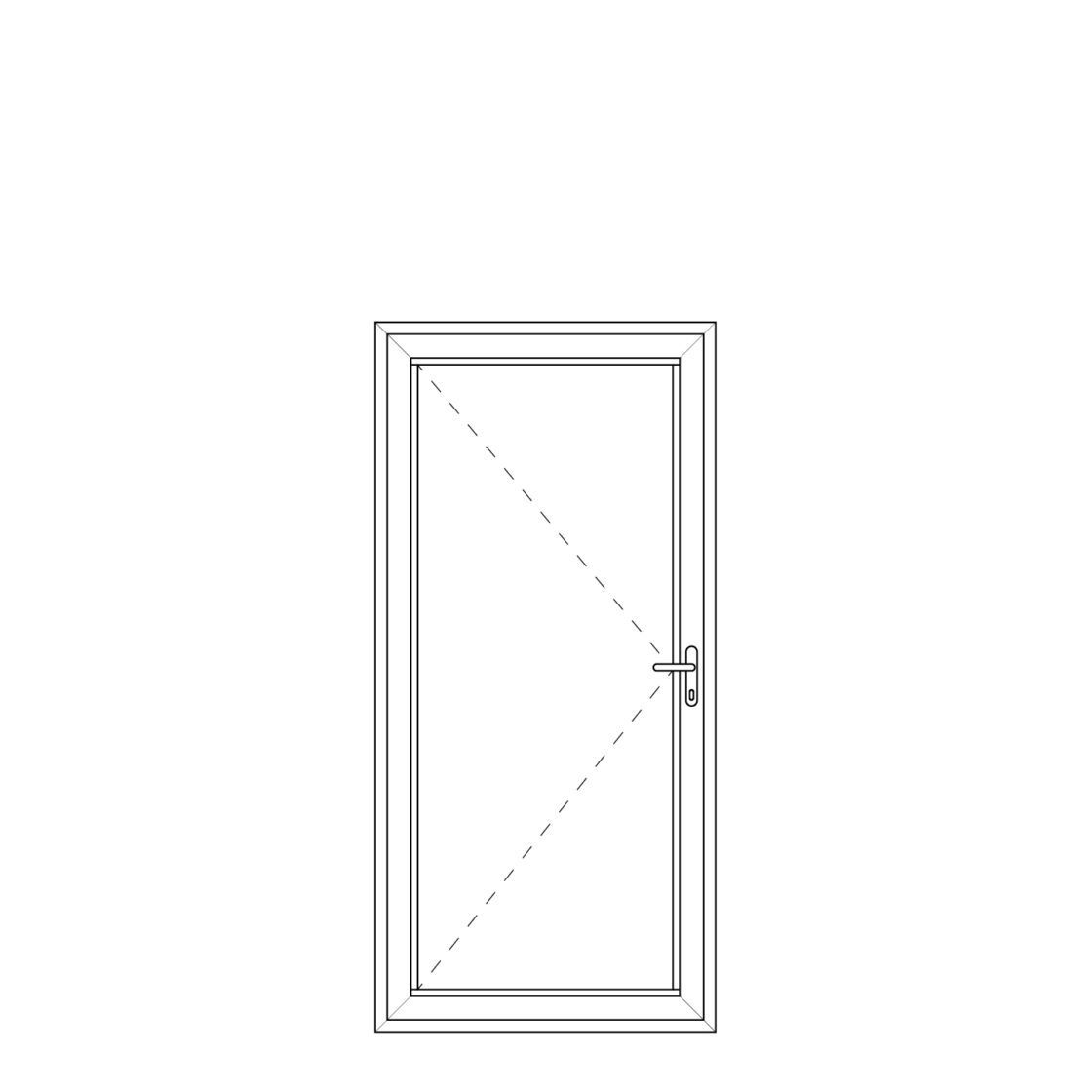 NorDan upvc door config Door
