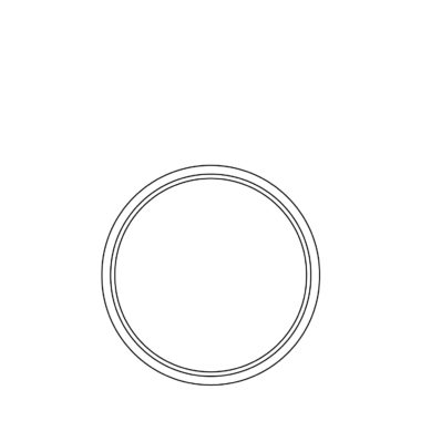 Circle fixed frame